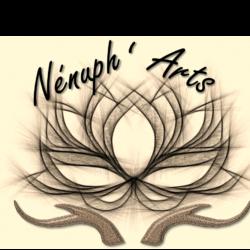 logo de Nénuph'Arts - Peinture - Sculpture - Dentelle de béton - Gironde - Art