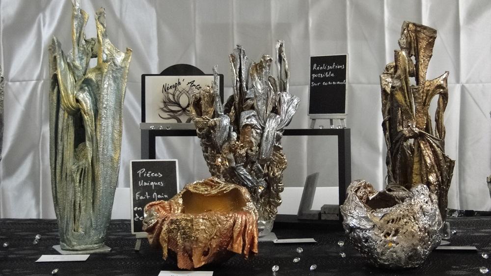 évènements Nénuph'Arts - Gironde - Art - Boutique - Sculpture - Peinture