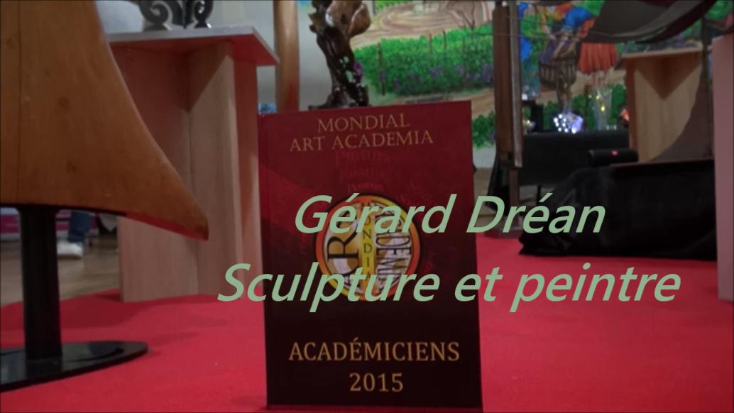 Gérard Dréan Vidéo Nénuph'Arts - Dentelle de béton
