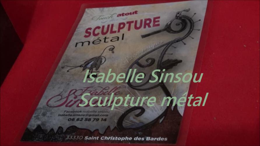 Isabelle Sinsou vidéo - Nénuph'Arts - Dentelle de béton