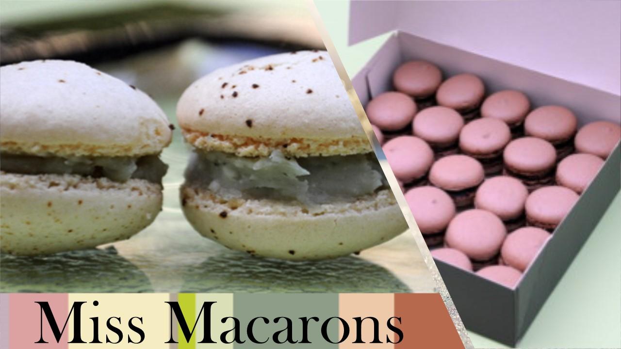 miss macarons - Nénuph'Arts
