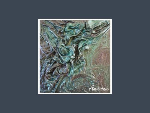 Amazonie - Dentelle de Béton par Nénuph'Arts - Gironde - Art - Boutique - Peinture
