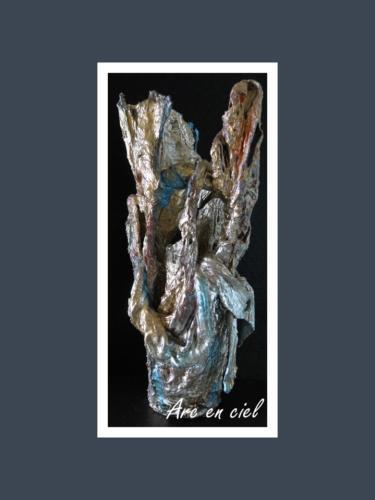 Arc-en-ciel - Dentelle de Béton par Nénuph'Arts - Gironde - Art - Boutique - Sculpture