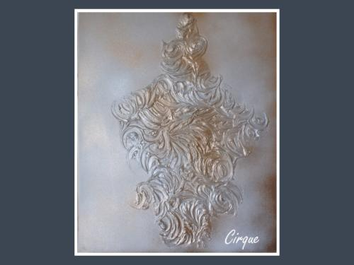 Cirque - Nénuph'Arts - Gironde - Art - Boutique - Peinture en relief