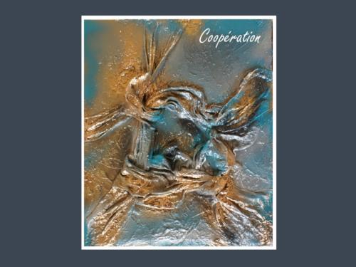 Coopération - Dentelle de Béton par Nénuph'Arts - Gironde - Art - Boutique - Peinture