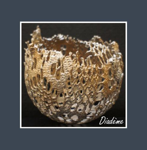 Diadème - Dentelle de Béton par Nénuph'Arts - Gironde - Art - Boutique - Sculpture