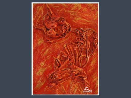 Etna - Dentelle de Béton par Nénuph'Arts - Gironde - Art - Boutique - Peinture