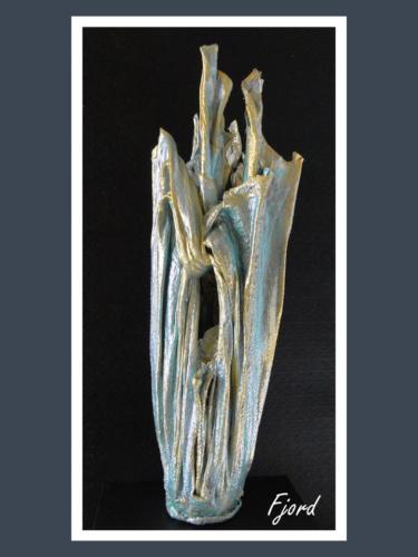 Fjord - Dentelle de Béton par Nénuph'Arts - Gironde - Art - Boutique - Sculpture