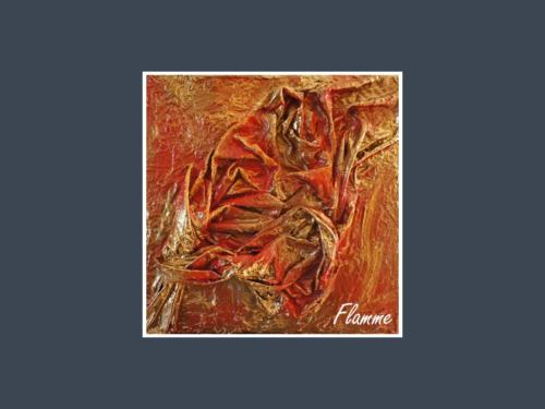 Flamme - Dentelle de Béton par Nénuph'Arts - Gironde - Art - Boutique - Peinture
