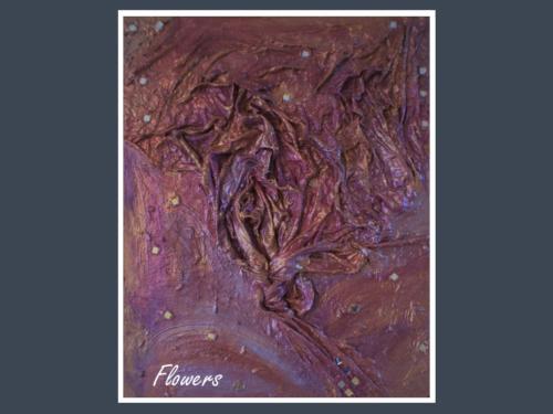 Flowers - Dentelle de Béton par Nénuph'Arts - Gironde - Art - Boutique - Peinture
