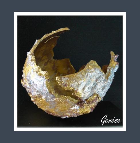 Genèse - Dentelle de Béton par Nénuph'Arts - Gironde - Art - Boutique - Sculpture