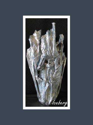 Iceberg - Dentelle de Béton par Nénuph'Arts - Gironde - Art - Boutique - Sculpture