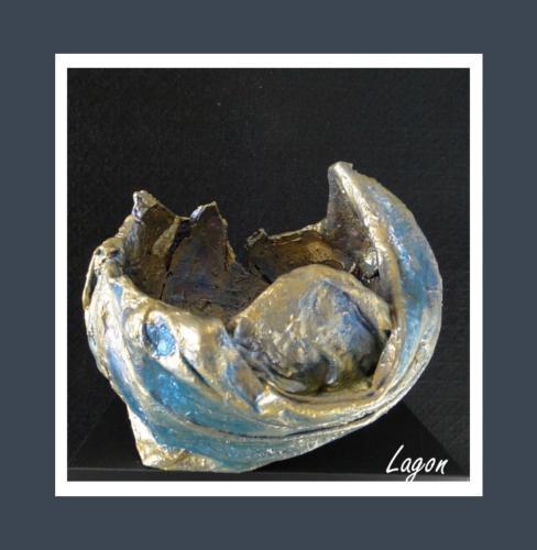 Lagon - Dentelle de Béton par Nénuph'Arts - Gironde - Art - Boutique - Sculpture