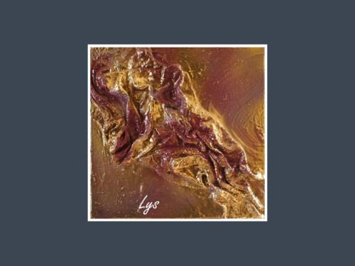Lys - Dentelle de Béton par Nénuph'Arts - Gironde - Art - Boutique - Peinture