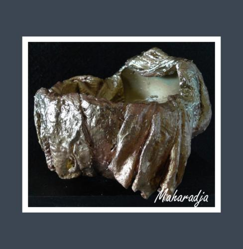 Maharadja - Dentelle de Béton par Nénuph'Arts - Gironde - Art - Boutique - Sculpture