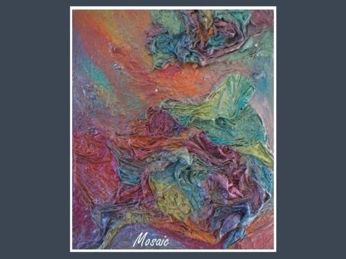 Mosaic - Dentelle de Béton par Nénuph'Arts - Gironde - Art - Boutique - Peinture