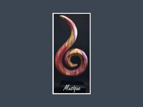 Musique - Nénuph'Arts - Gironde - Art - Boutique - Sculpture