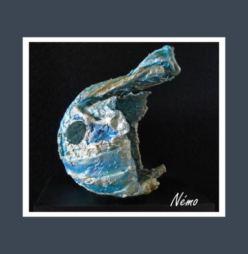Némo - Dentelle de Béton par Nénuph'Arts - Gironde - Art - Boutique - Sculpture