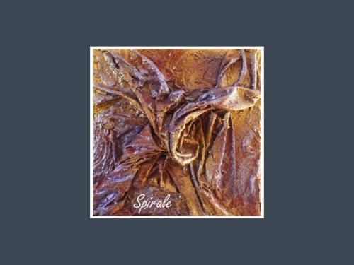 Spirale - Dentelle de Béton par Nénuph'Arts - Gironde - Art - Boutique - Peinture