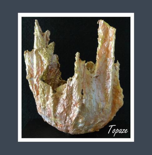 Topaze - Dentelle de Béton par Nénuph'Arts - Gironde - Art - Boutique - Sculpture
