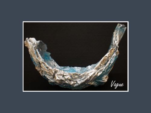 Vague - Dentelle de Béton par Nénuph'Arts - Gironde - Art - Boutique - Sculpture