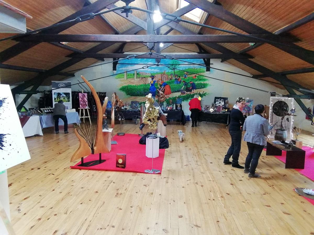Vente privée Nénuph'Arts du 7 décembre 2018 - Gironde - Art - Boutique - Sculpture - Peinture - Dentelle de béton